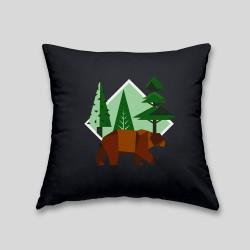 Brown bear cushion_11